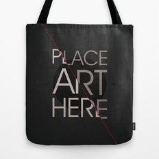 The Art Placeholder Tote Bag