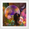 A Romantic Dream Art Print