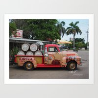 Rum Runner Art Print
