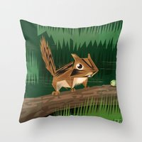 Chip Chip Throw Pillow
