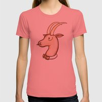 Sir Antelope Womens Fitted Tee Pomegranate SMALL
