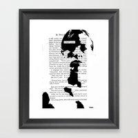 A Simple Prayer Framed Art Print