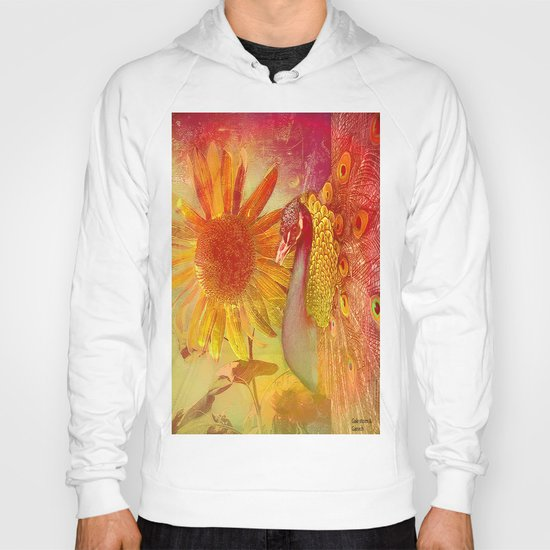 :: Sunflower and Ruebin the Royal Peacock :: by Gale storm and Joe Ganech Hoody