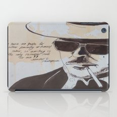 Hunter S. Thompson iPad Case