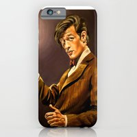 iPhone & iPod Case featuring The Eleventh Doctor by Emily Blythe Jones