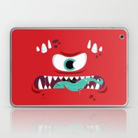 Baddest Red Monster! Laptop & iPad Skin