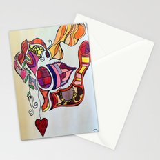 The Spirit of the Color Red Stationery Cards