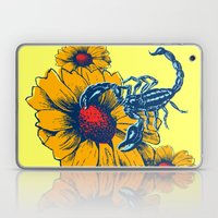 Scorpion Flowers Laptop & iPad Skin