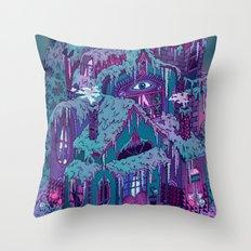 December House Throw Pillow