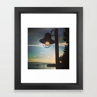 Sun Light Framed Art Print