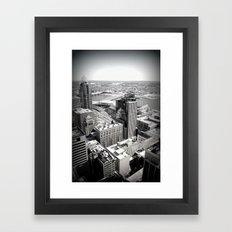 Cincinnati - Downtown #3 Framed Art Print