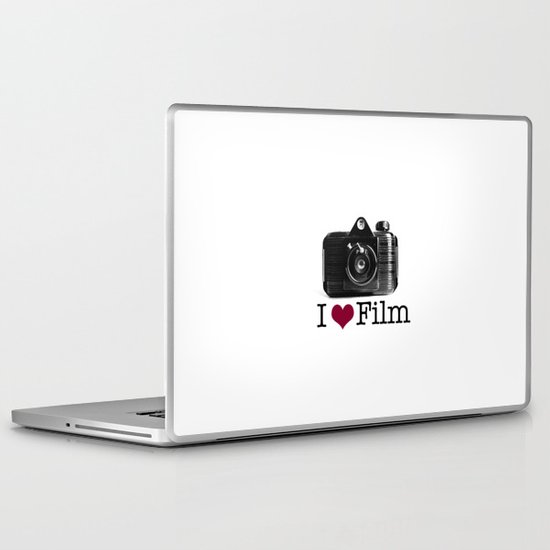 I ♥ Film Laptop & iPad Skin
