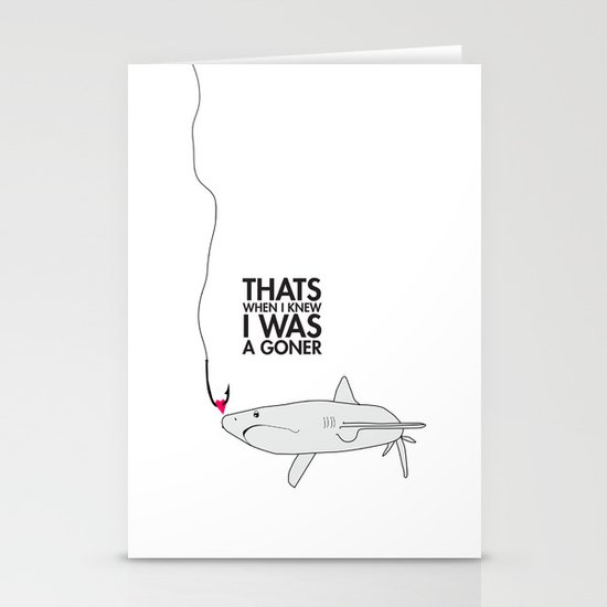 Goner Stationery Card