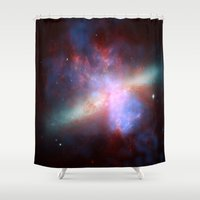 Cosmic Galaxy Shower Curtain