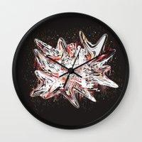 Mind bending Splat Wall Clock