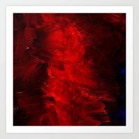 Red Cases Art Print