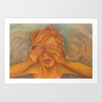 I Can Still See You Art Print