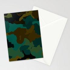 Earth Camo Stationery Cards