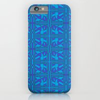 Blue Green Layers iPhone 6 Slim Case