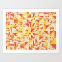 Shapes 008 Art Print