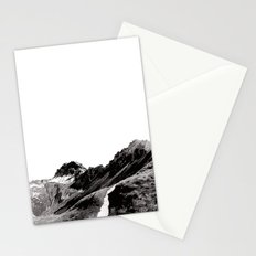The road below the mountains Stationery Cards