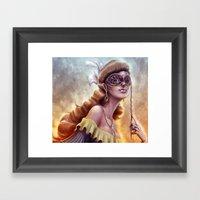 The Carnival Spirit Framed Art Print