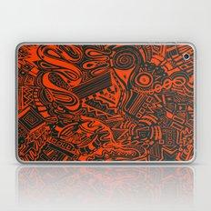 Inky - Orange & Green Laptop & iPad Skin