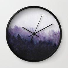 Again And Again Wall Clock