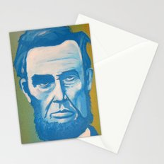 Blue Lincoln Stationery Cards