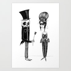 Love Never Dies Art Print