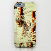 iPhone & iPod Case featuring Illustration Mashup by Damien Koh