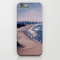 iPhone & iPod Case featuring Adventure is Calling by Leah Flores