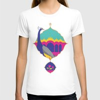 India Womens Fitted Tee White SMALL