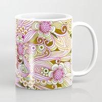 Flower Fire   Yellow, Pu… Mug
