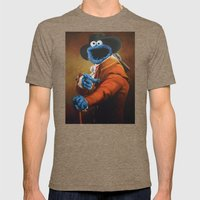 Monster Ducookie Mens Fitted Tee Tri-Coffee SMALL