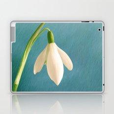 Single Snowdrop Laptop & iPad Skin