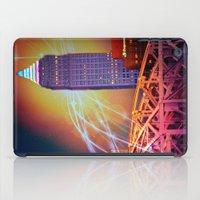 Moonbeams Over The Bridge iPad Case