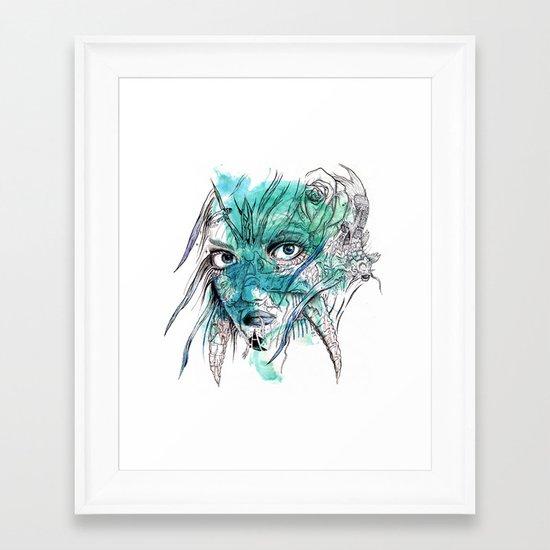 Beetle Born Framed Art Print