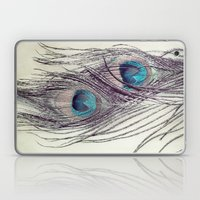 Peacock Feathers Laptop & iPad Skin