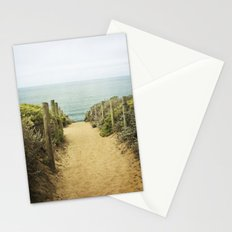 Path to the Beach Stationery Cards