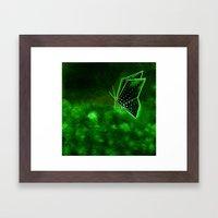 Butterfly Origami 3 Framed Art Print