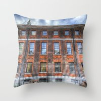 The Chapter House London Throw Pillow