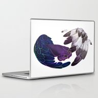 Laptop & iPad Skin featuring Laugh by Rhea Ewing