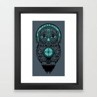 Guardian Of The Lost Framed Art Print