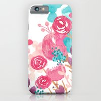 iPhone & iPod Case featuring Blush Blossoms by Sara Berrenson
