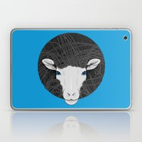 Black White Sheep Laptop & iPad Skin