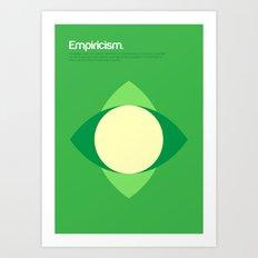 Empiricism Art Print