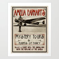 Mystery Tours & Flights of Fancy Art Print