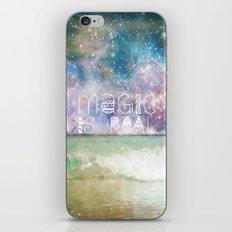 Magic Is Real II iPhone & iPod Skin