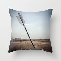 Stick 'em With the Pointy End Throw Pillow